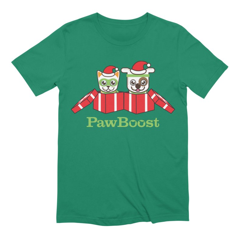 Toby & Moby Presents Men's Extra Soft T-Shirt by PawBoost's Shop