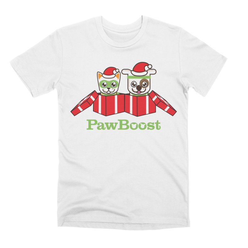 Toby & Moby Presents Men's Premium T-Shirt by PawBoost's Shop