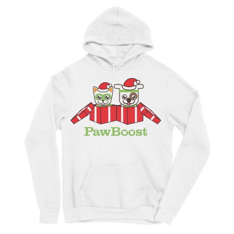 Toby & Moby Presents Women's Sponge Fleece Pullover Hoody by PawBoost's Shop