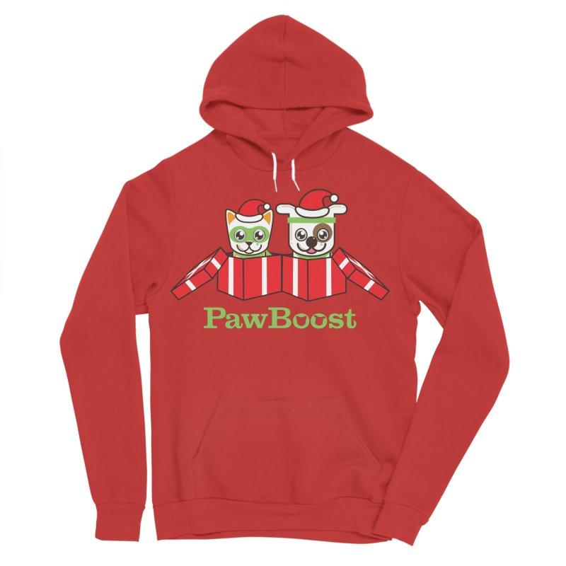 Toby & Moby Presents Women's Sponge Fleece Pullover Hoody by PawBoost's Shop
