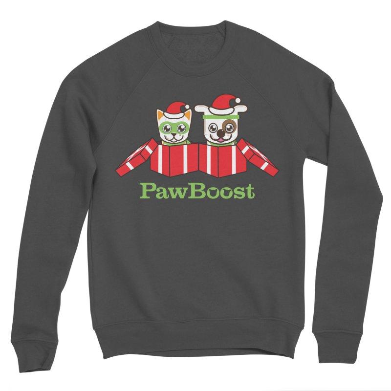 Toby & Moby Presents Men's Sponge Fleece Sweatshirt by PawBoost's Shop
