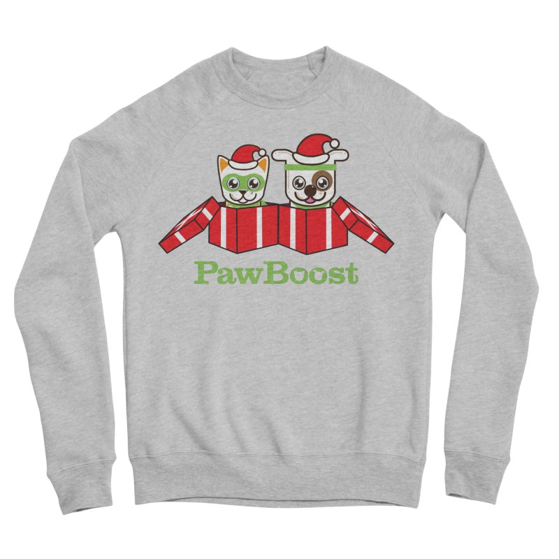 Toby & Moby Presents Women's Sponge Fleece Sweatshirt by PawBoost's Shop