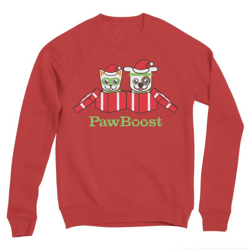 Toby & Moby Presents Women's Sponge Fleece Sweatshirt by PawBoost's Shop