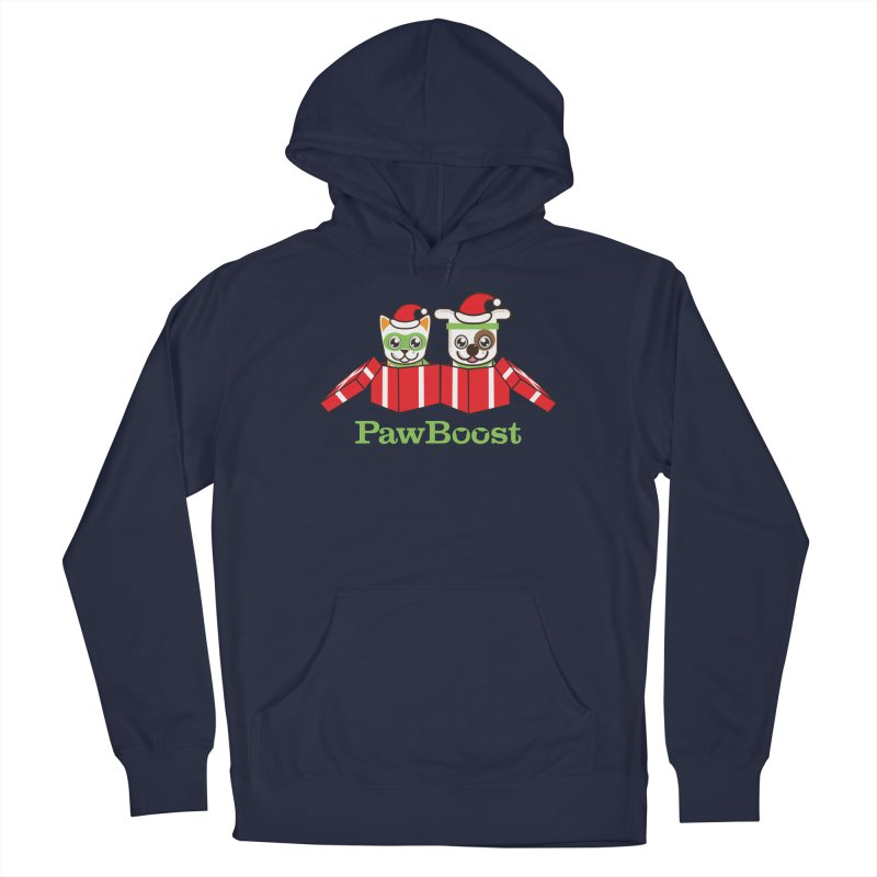 Toby & Moby Presents Men's Pullover Hoody by PawBoost's Shop