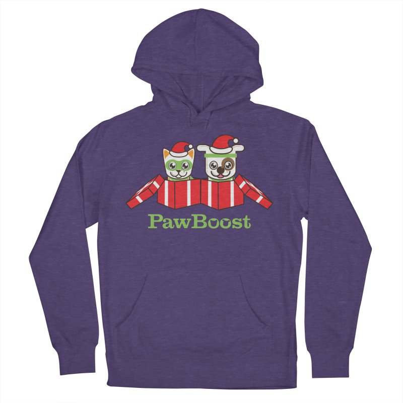 Toby & Moby Presents Men's French Terry Pullover Hoody by PawBoost's Shop