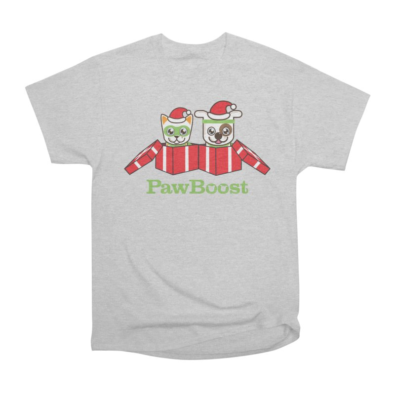 Toby & Moby Presents Men's Heavyweight T-Shirt by PawBoost's Shop