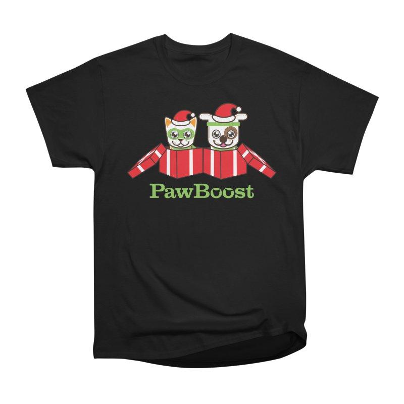 Toby & Moby Presents Women's Heavyweight Unisex T-Shirt by PawBoost's Shop