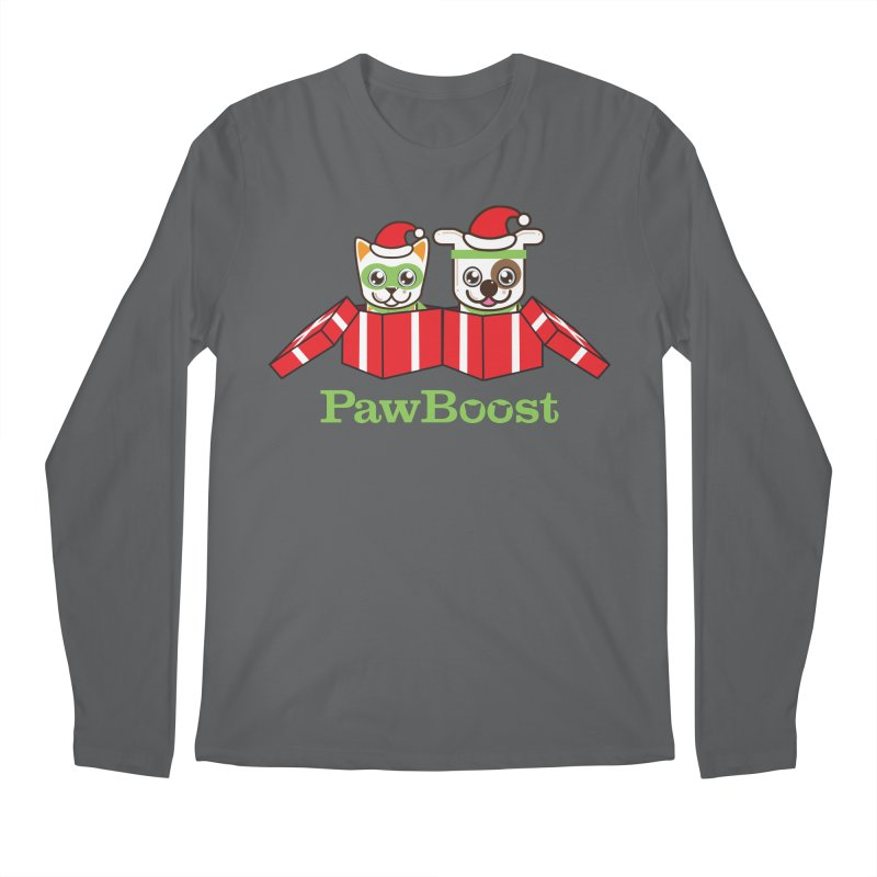 Toby & Moby Presents Men's Longsleeve T-Shirt by PawBoost's Shop