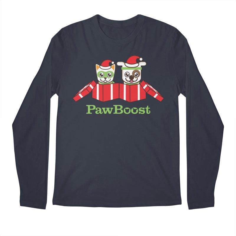 Toby & Moby Presents Men's Regular Longsleeve T-Shirt by PawBoost's Shop