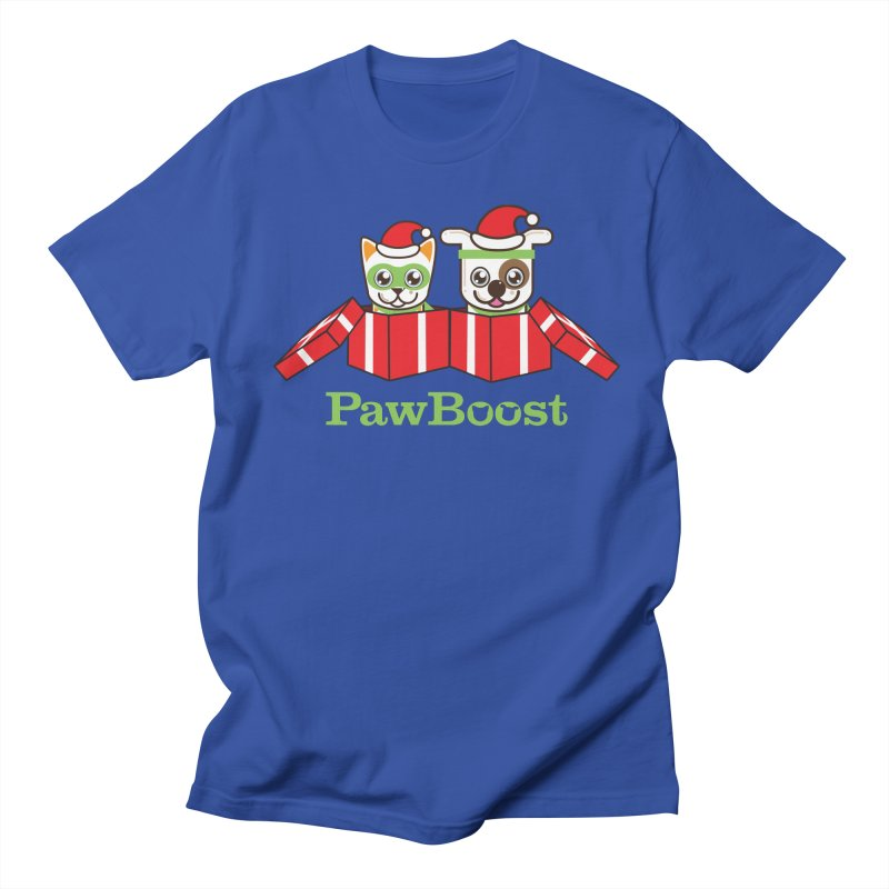 Toby & Moby Presents Women's Regular Unisex T-Shirt by PawBoost's Shop