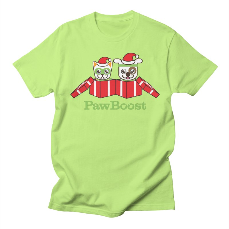 Toby & Moby Presents Men's Regular T-Shirt by PawBoost's Shop