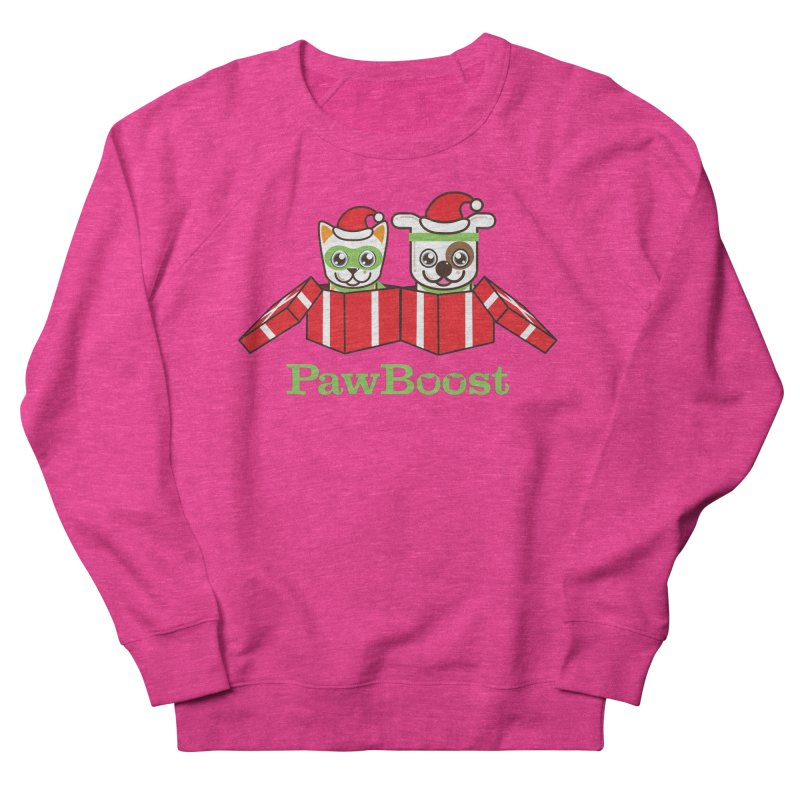 Toby & Moby Presents Women's French Terry Sweatshirt by PawBoost's Shop