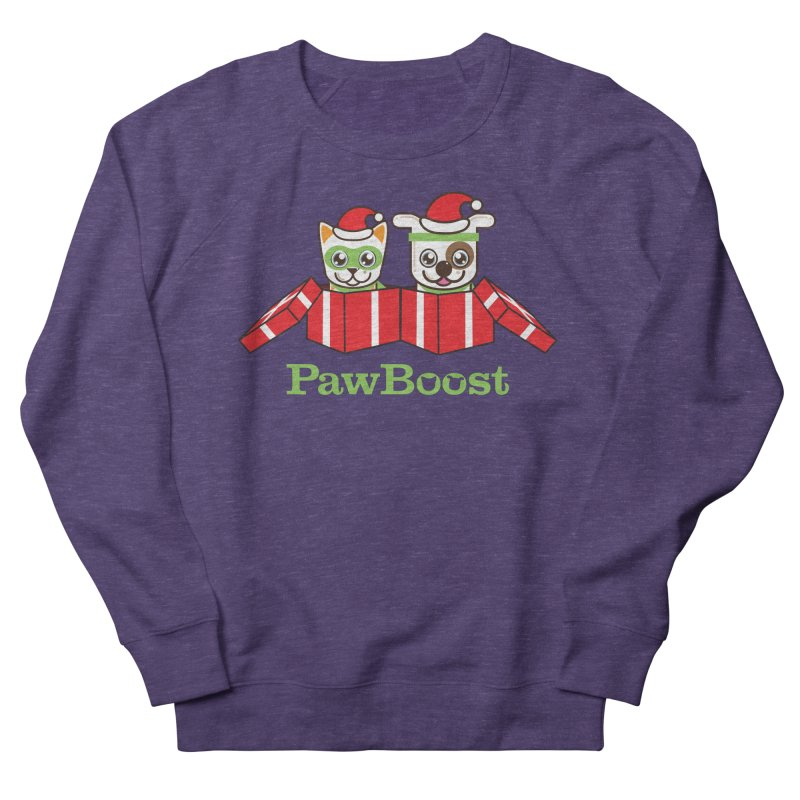 Toby & Moby Presents Men's French Terry Sweatshirt by PawBoost's Shop