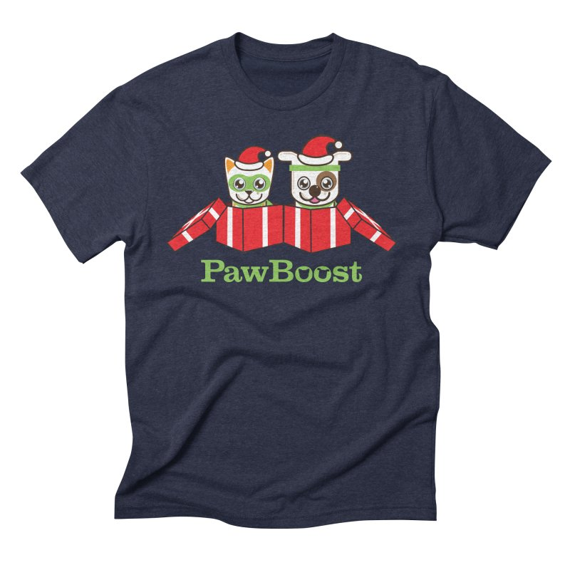 Toby & Moby Presents Men's Triblend T-Shirt by PawBoost's Shop