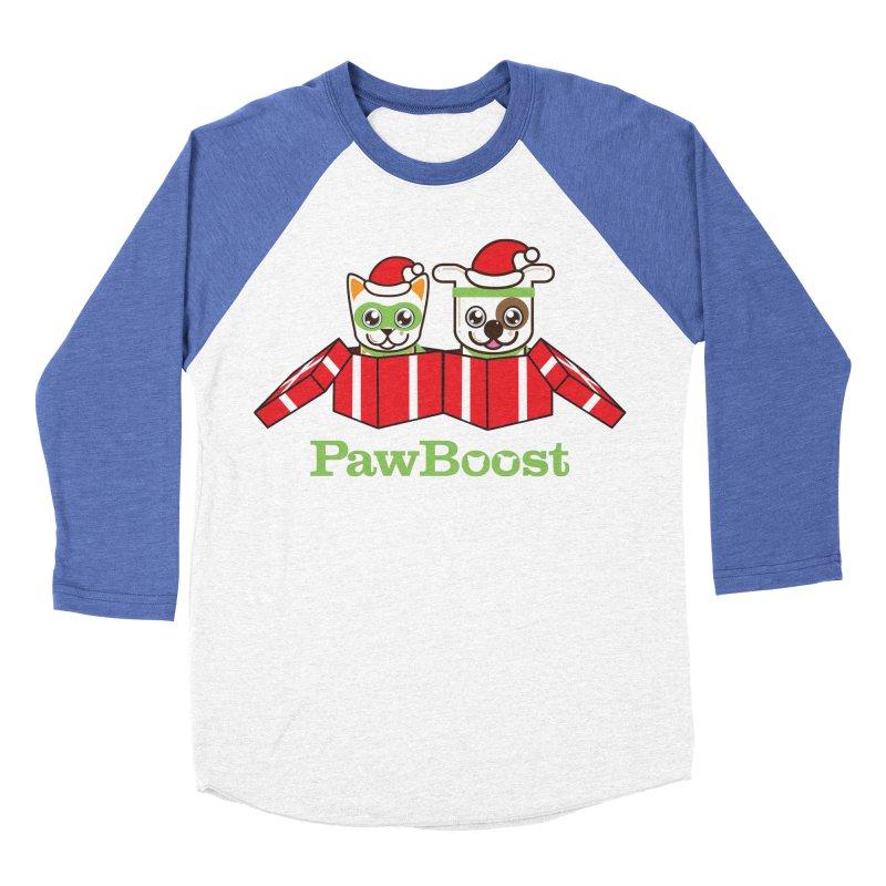Toby & Moby Presents Women's Baseball Triblend Longsleeve T-Shirt by PawBoost's Shop