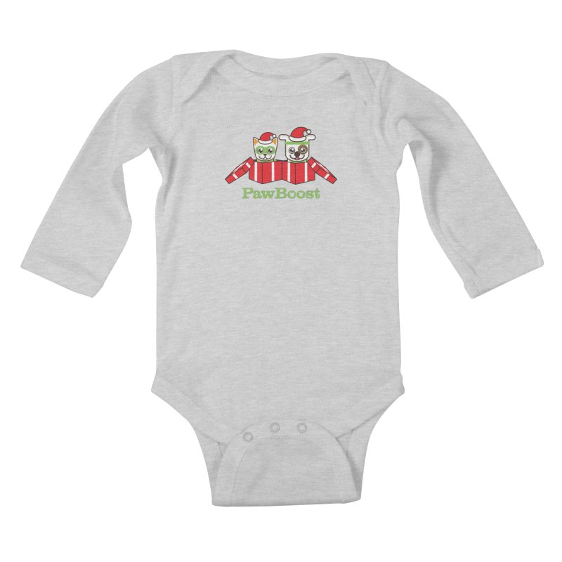 Toby & Moby Presents Kids Baby Longsleeve Bodysuit by PawBoost's Shop