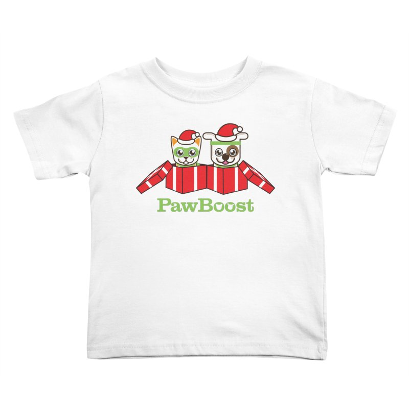 Toby & Moby Presents Kids Toddler T-Shirt by PawBoost's Shop