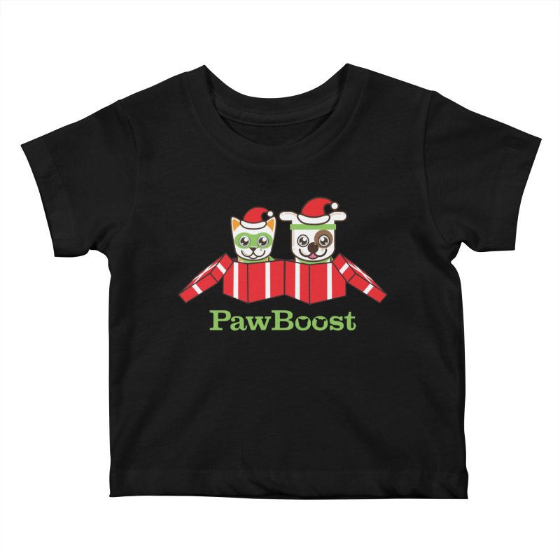 Toby & Moby Presents Kids Baby T-Shirt by PawBoost's Shop