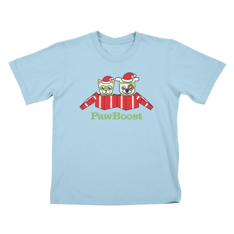 Toby & Moby Presents Kids T-Shirt by PawBoost's Shop