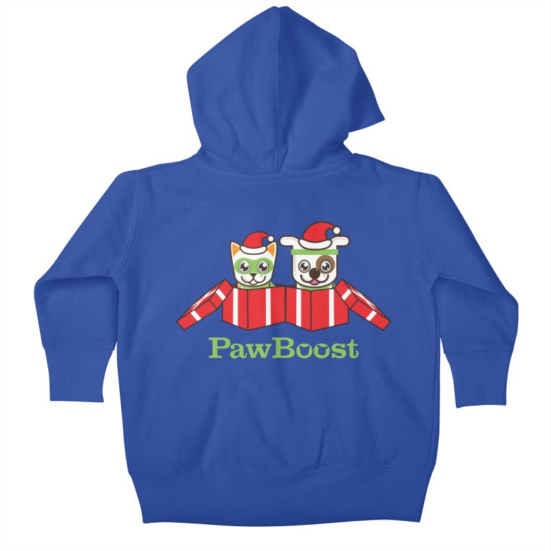 Toby & Moby Presents Kids Baby Zip-Up Hoody by PawBoost's Shop