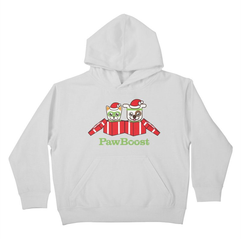 Toby & Moby Presents Kids Pullover Hoody by PawBoost's Shop