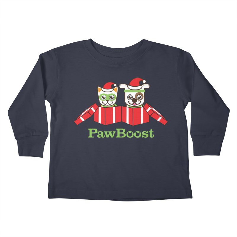Toby & Moby Presents Kids Toddler Longsleeve T-Shirt by PawBoost's Shop