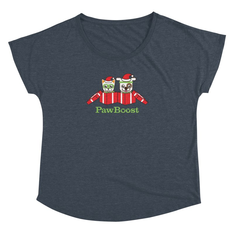 Toby & Moby Presents Women's Dolman Scoop Neck by PawBoost's Shop