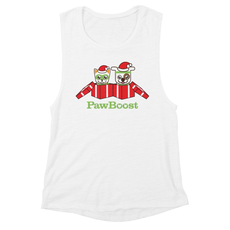 Toby & Moby Presents Women's Muscle Tank by PawBoost's Shop