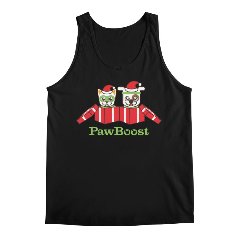Toby & Moby Presents Men's Regular Tank by PawBoost's Shop