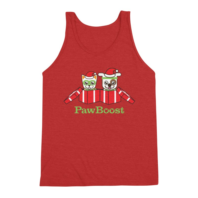 Toby & Moby Presents Men's Triblend Tank by PawBoost's Shop