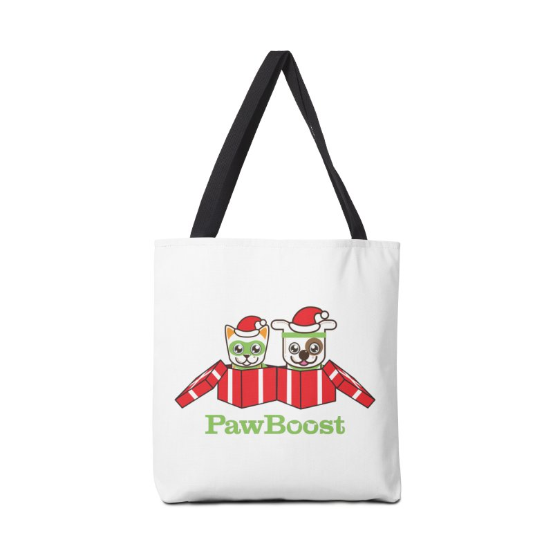 Toby & Moby Presents Accessories Tote Bag Bag by PawBoost's Shop