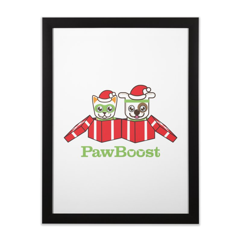 Toby & Moby Presents Home Framed Fine Art Print by PawBoost's Shop