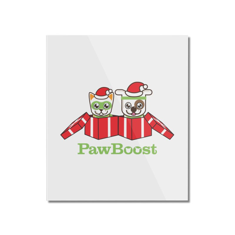 Toby & Moby Presents Home Mounted Acrylic Print by PawBoost's Shop