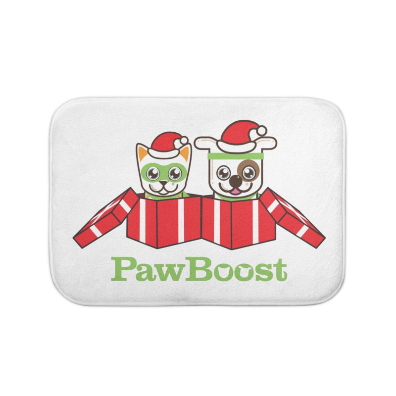 Toby & Moby Presents Home Bath Mat by PawBoost's Shop