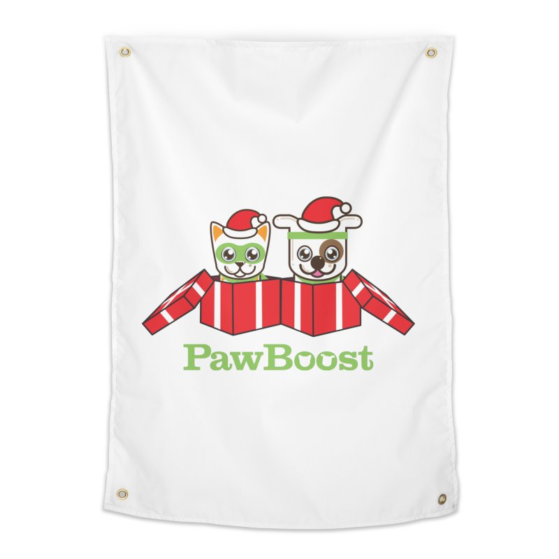 Toby & Moby Presents Home Tapestry by PawBoost's Shop