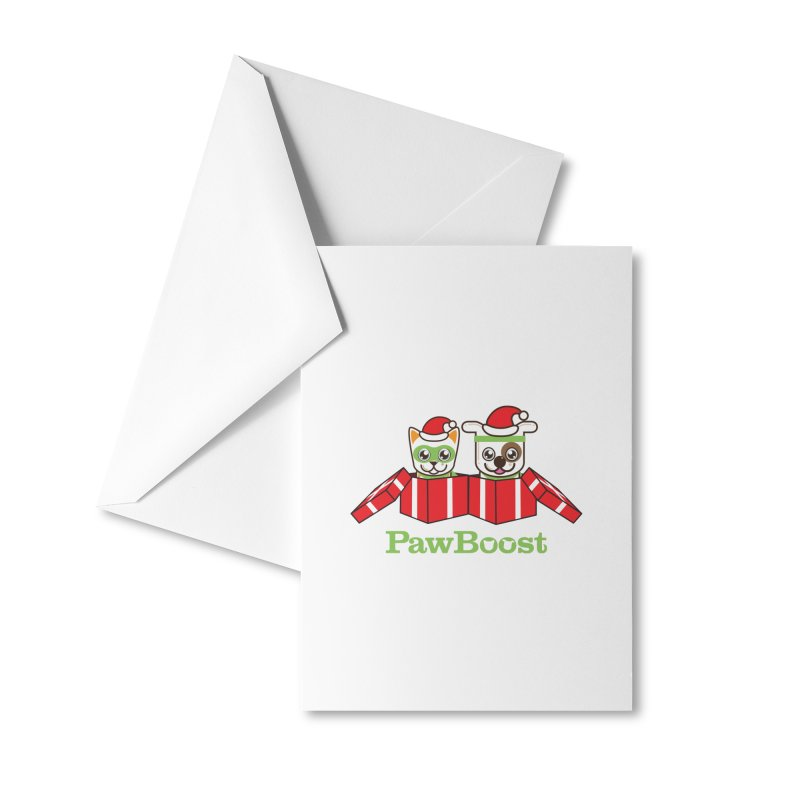 Toby & Moby Presents Accessories Greeting Card by PawBoost's Shop