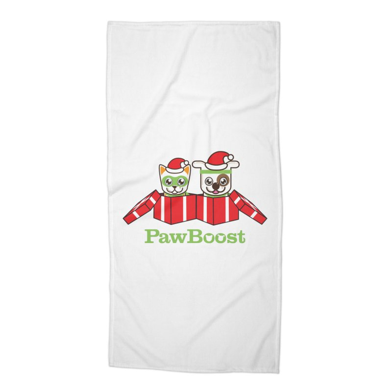 Toby & Moby Presents Accessories Beach Towel by PawBoost's Shop