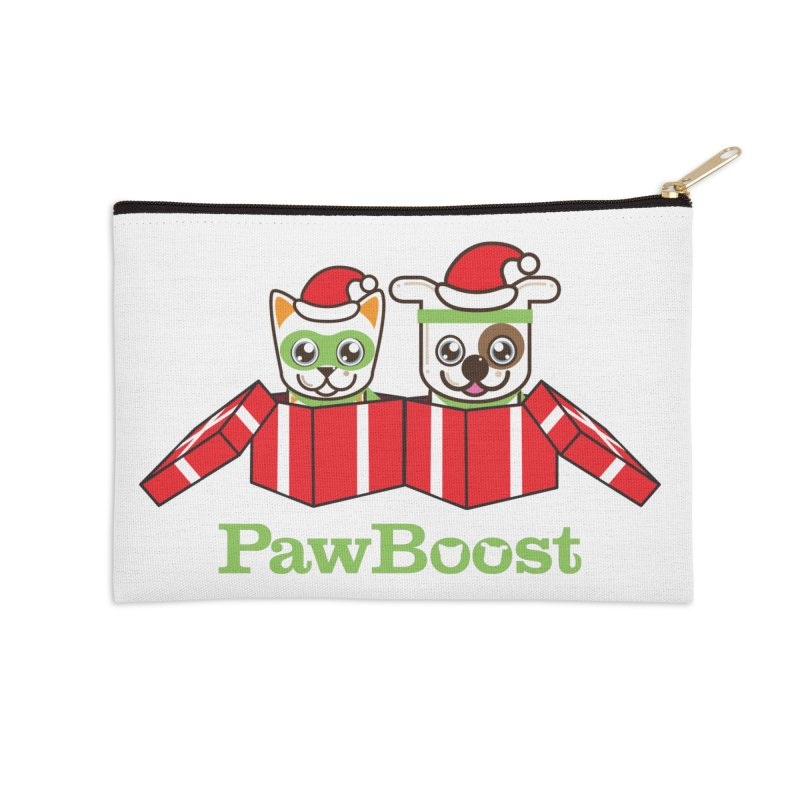 Toby & Moby Presents Accessories Zip Pouch by PawBoost's Shop