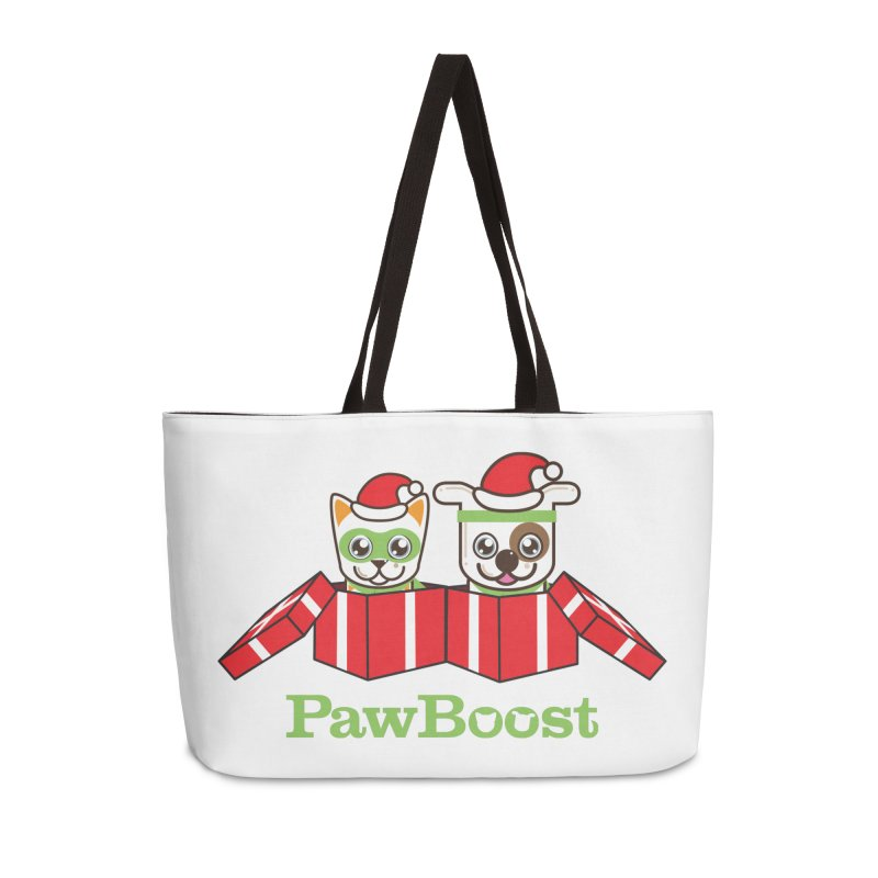 Toby & Moby Presents Accessories Weekender Bag Bag by PawBoost's Shop