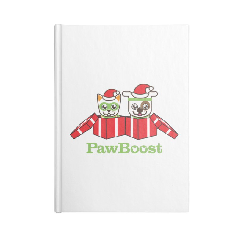 Toby & Moby Presents Accessories Blank Journal Notebook by PawBoost's Shop