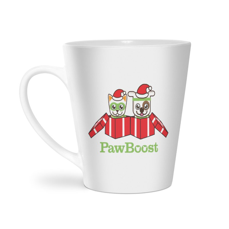 Toby & Moby Presents Accessories Latte Mug by PawBoost's Shop