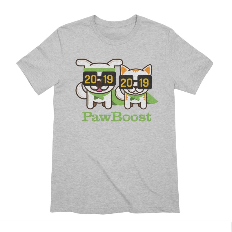 Hello 2019! Men's T-Shirt by PawBoost's Shop