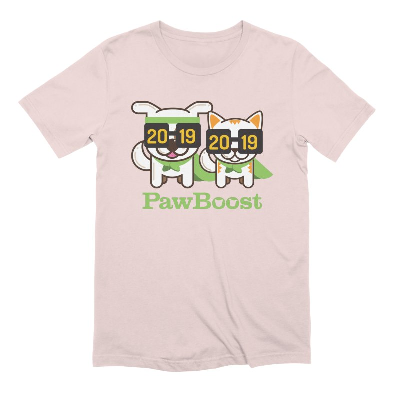 Hello 2019! Men's Extra Soft T-Shirt by PawBoost's Shop