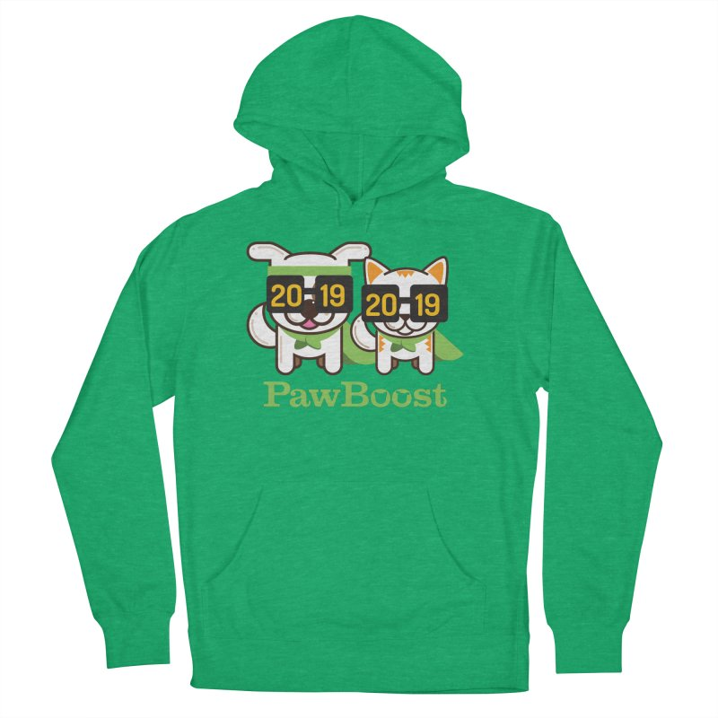 Hello 2019! Women's French Terry Pullover Hoody by PawBoost's Shop