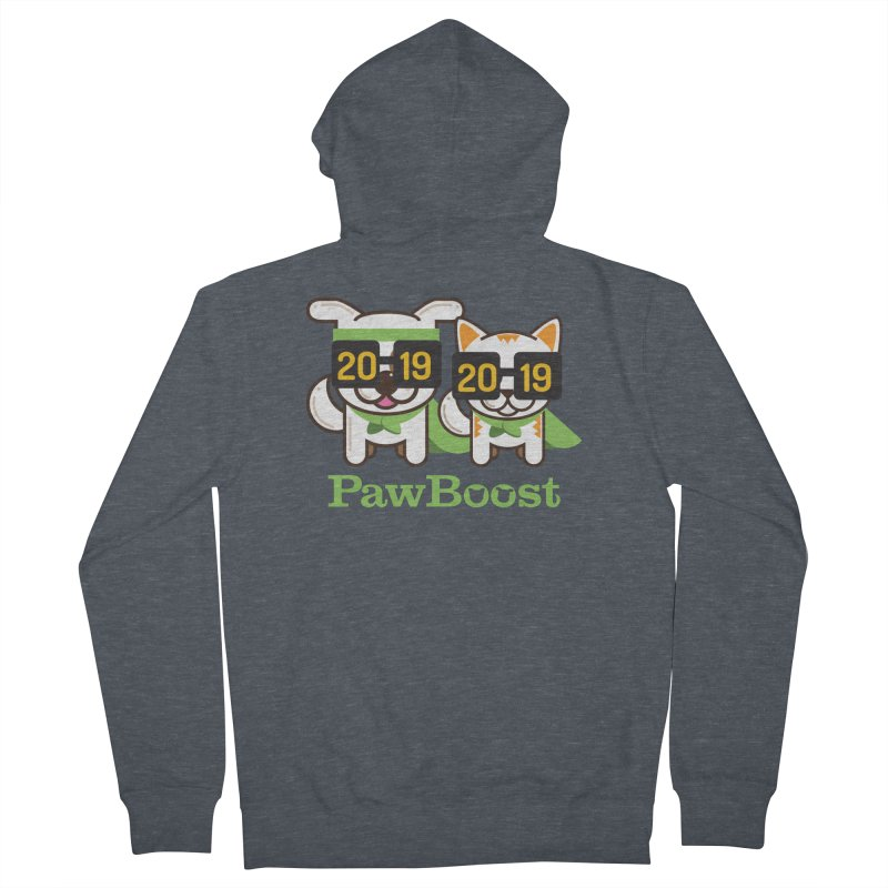 Hello 2019! Women's French Terry Zip-Up Hoody by PawBoost's Shop