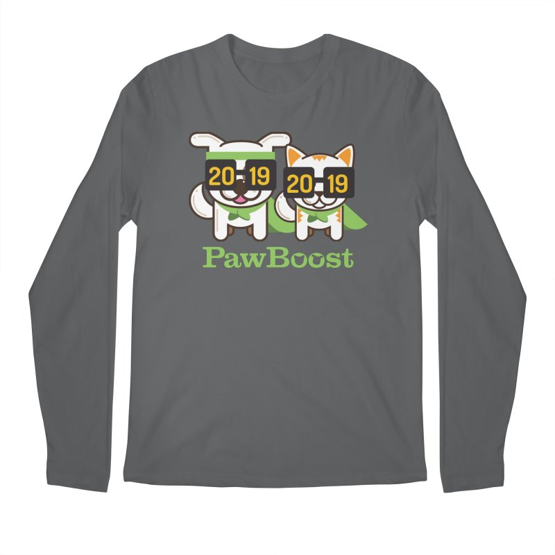 Hello 2019! Men's Longsleeve T-Shirt by PawBoost's Shop