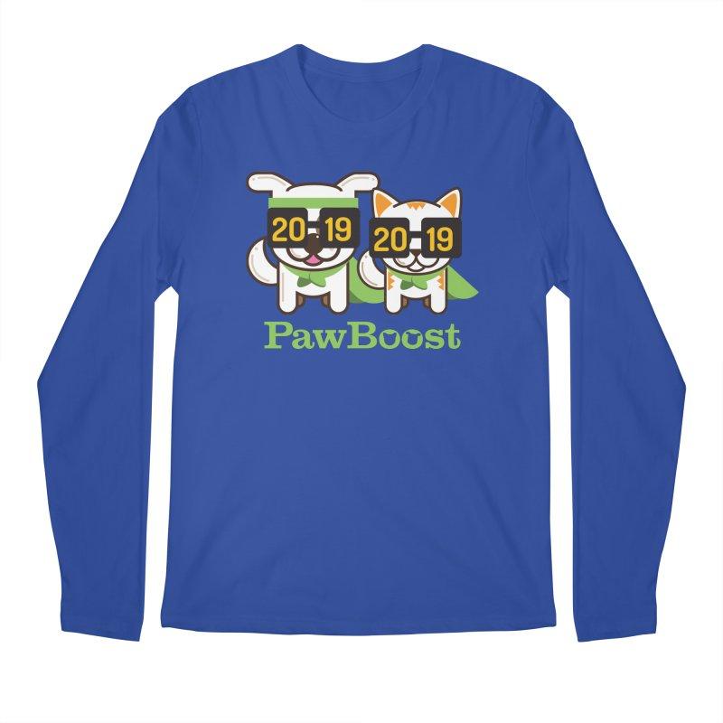 Hello 2019! Men's Regular Longsleeve T-Shirt by PawBoost's Shop