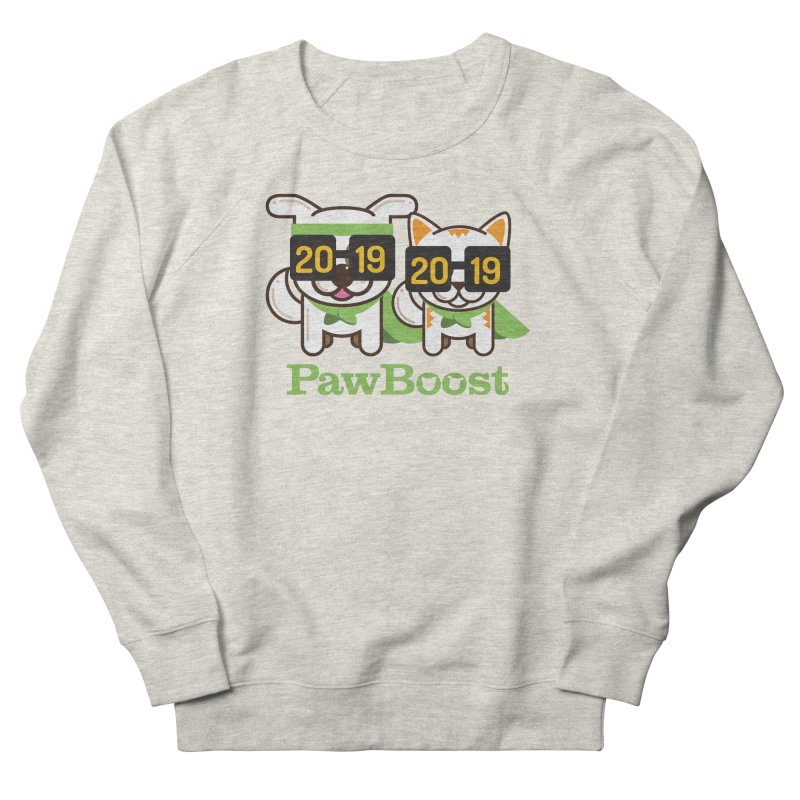 Hello 2019! Men's French Terry Sweatshirt by PawBoost's Shop