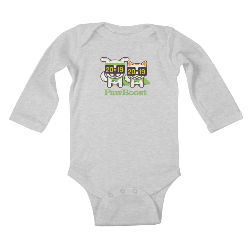 Hello 2019! Kids Baby Longsleeve Bodysuit by PawBoost's Shop