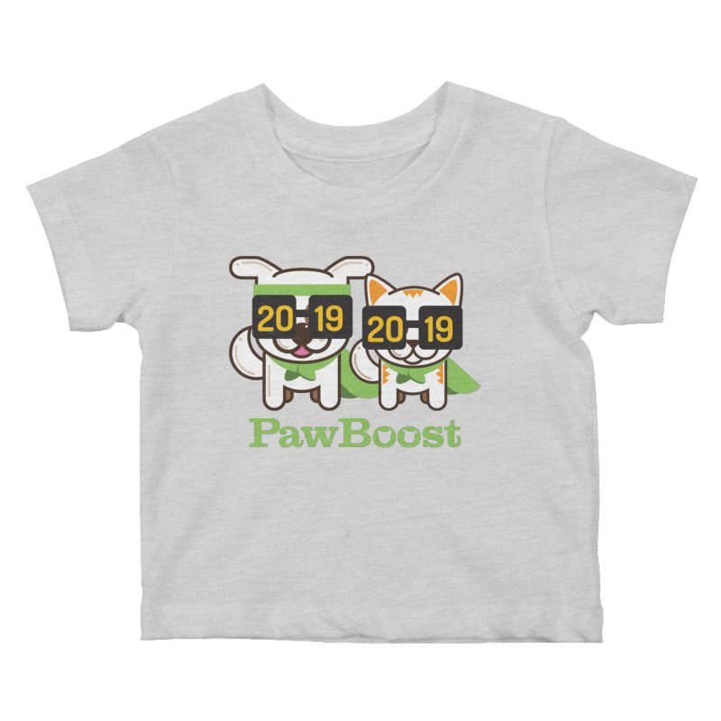 Hello 2019! Kids Baby T-Shirt by PawBoost's Shop